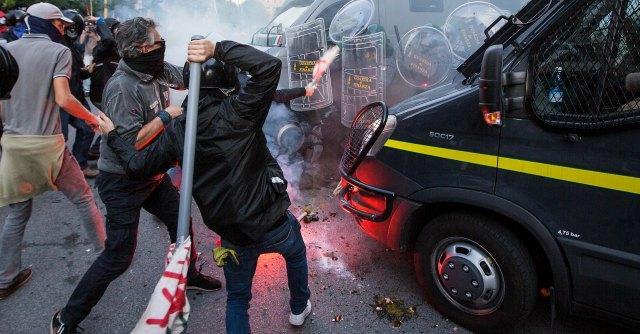 Mosciano: estraneo agli scontri di Roma, chiede danni
