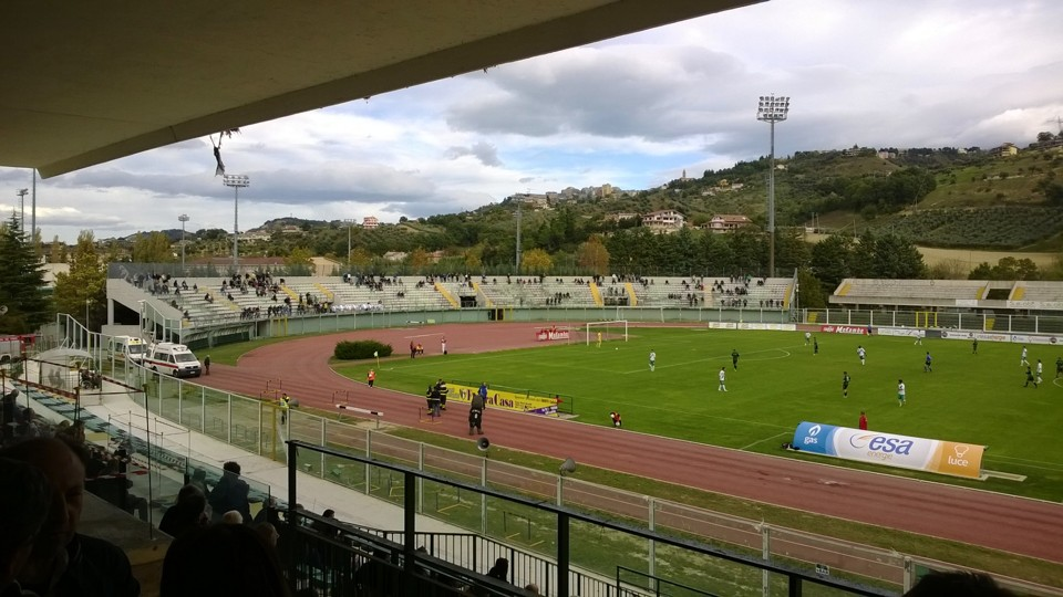 Stadio Angelini Chieti – La replica di Viola