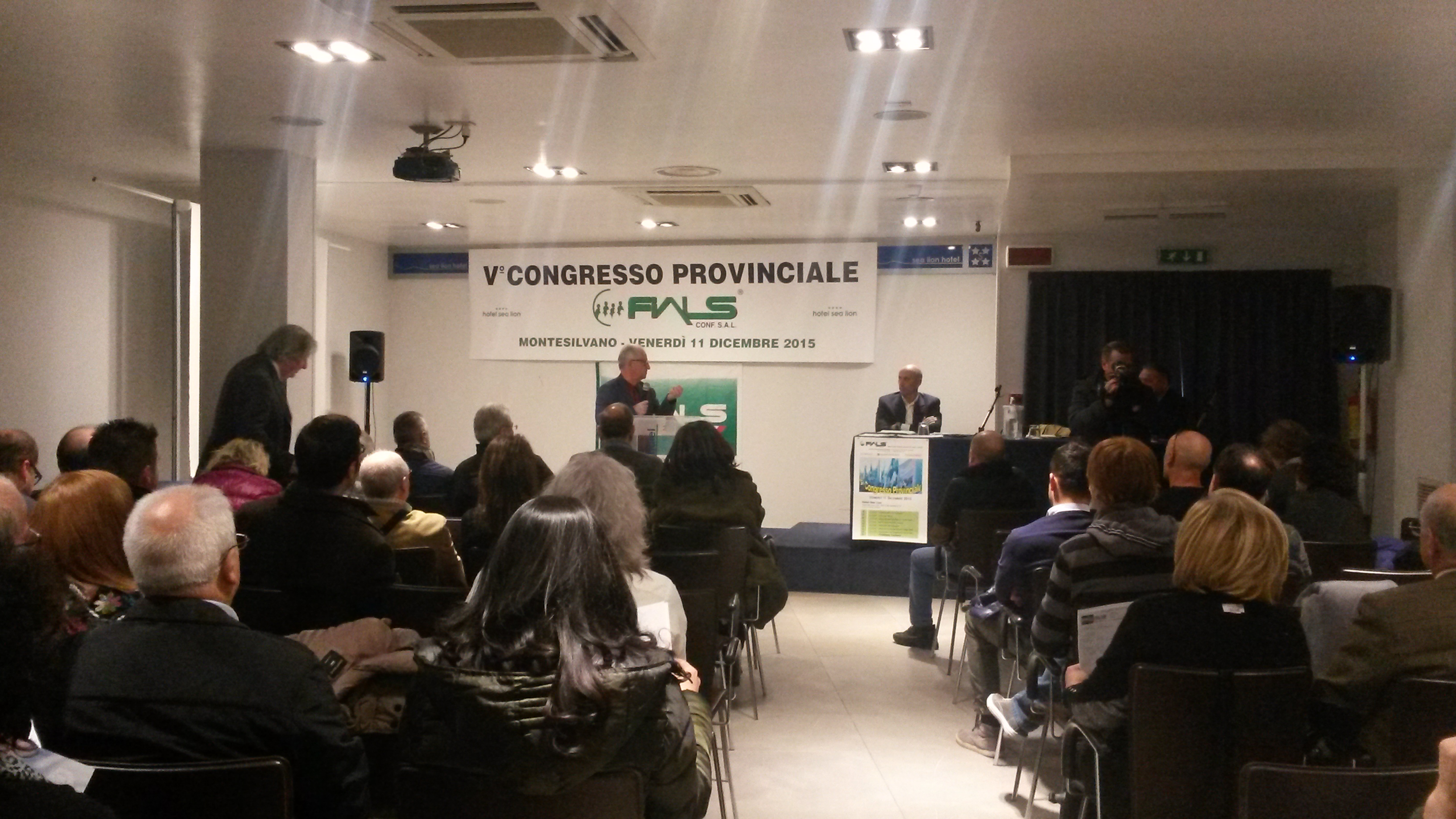 Montesilvano: al via Congresso Fials
