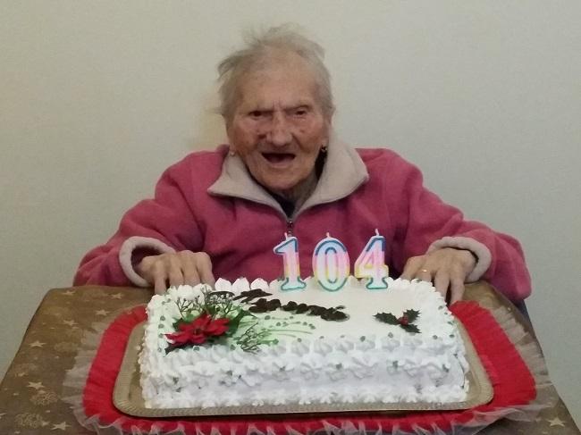 104 anni e non sentirli! Ecco la signora Giuseppina