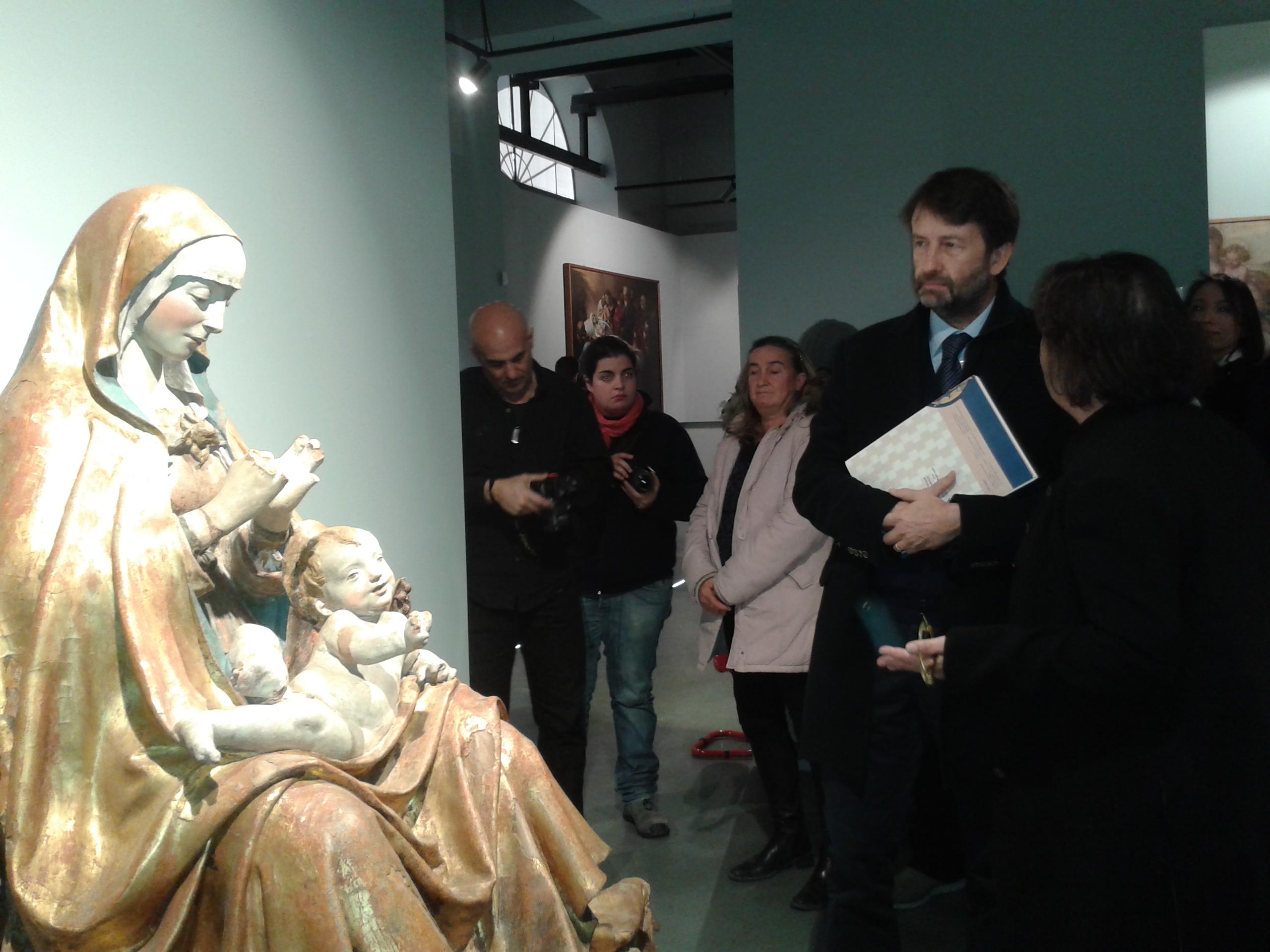 "Franceschini apre il Munda: ""Dall'arte rinasce L'Aquila"""
