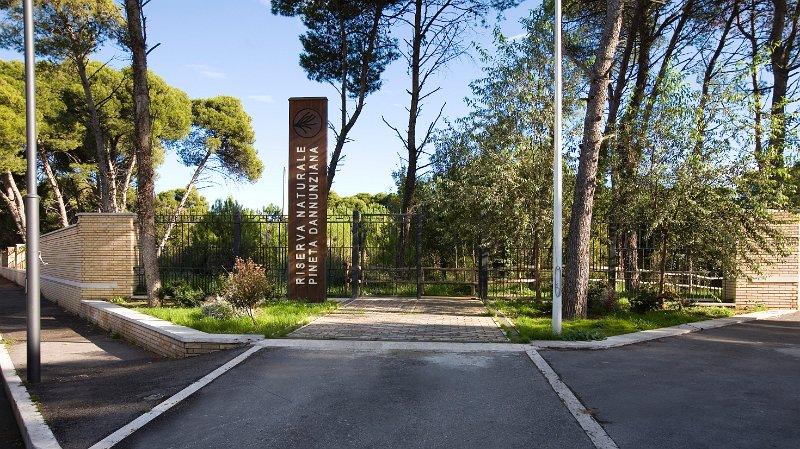 Un centro visite nella Riserva dannunziana