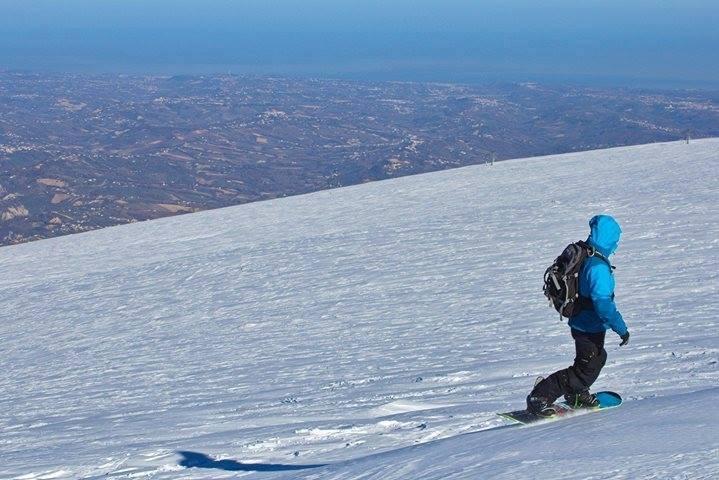 In Abruzzo si scia guardando il mare