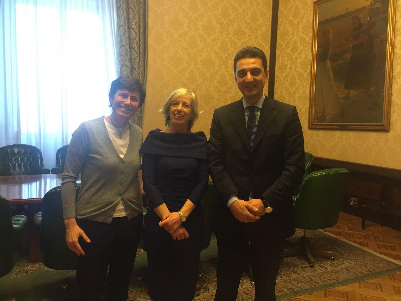 Stella Maris: Chiavaroli e Maragno dal Ministro Giannini
