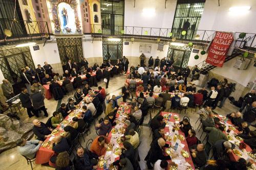 Avezzano, pranzo di Natale in carcere