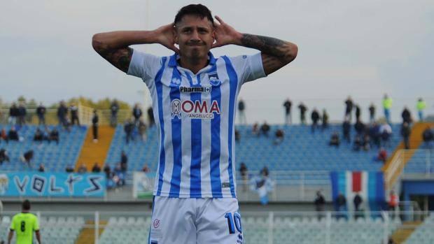 """Pescara calcio, il """"Miglior biancazzurro"""" a Lapadula"""