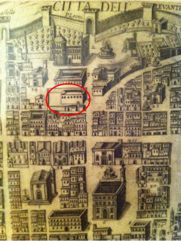 L'Aquila, sotto il palazzo c'era una chiesa