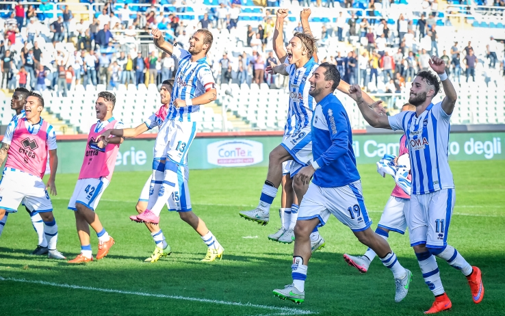 Pescara calcio, da domani in ritiro a Roma
