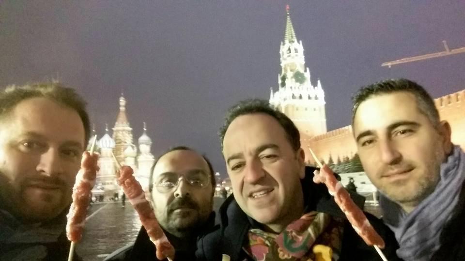Gli arrosticini abruzzesi conquistano Mosca