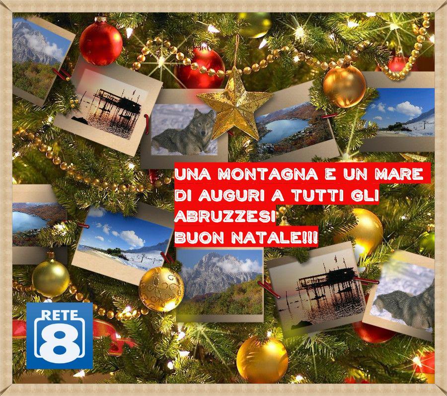 Buon Natale agli Abruzzesi da tutti noi!
