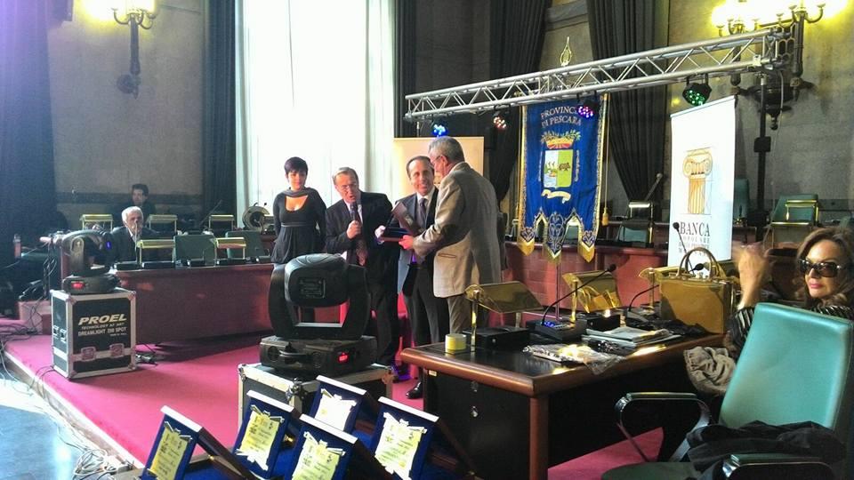 Economia Abruzzo : Premio all'imprenditore ideale