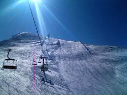 Gran Sasso, si scia con neve naturale