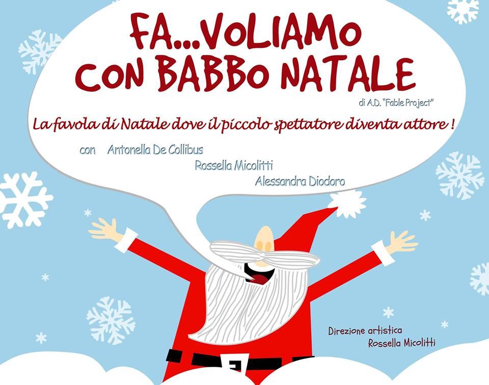 Pescara: Fa…voliamo con Babbo Natale