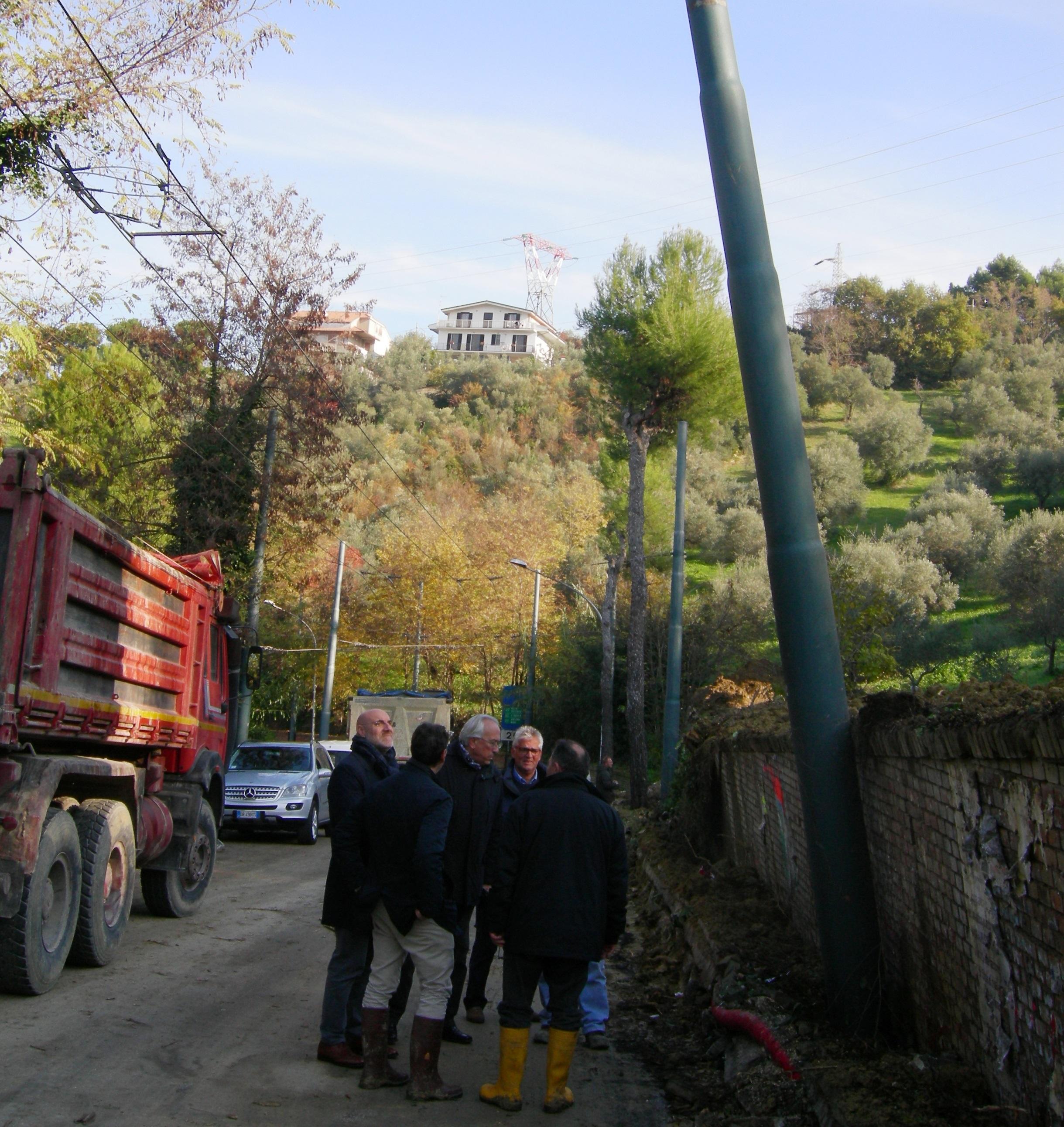 Chieti: la Colonnetta riapre al transito a doppio senso