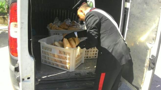 Città S.Angelo: Ruba furgone di pane appena sfornato