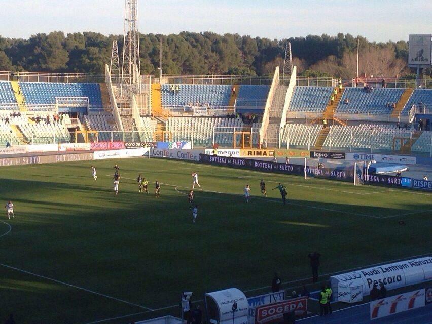Pescara Entella : ritorno al successo