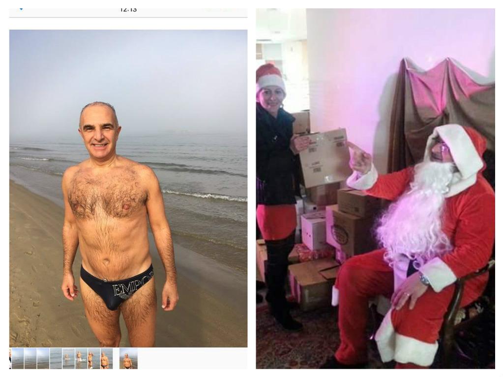 """Le """"follie"""" (buone) di Natale dei politici Abruzzesi (Foto)"""