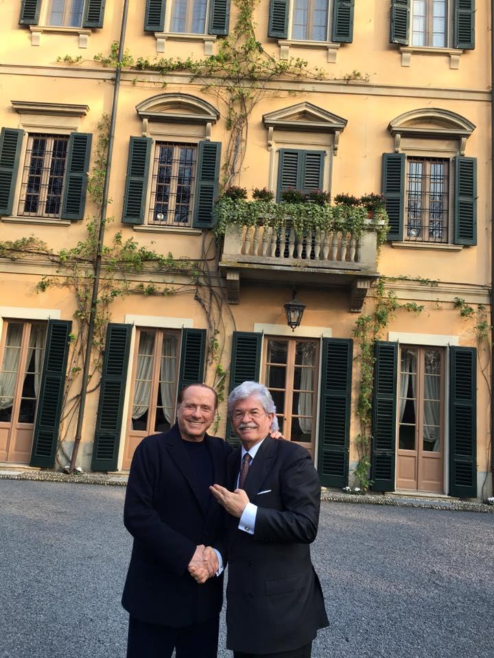 Razzi incontra Berlusconi ad Arcore