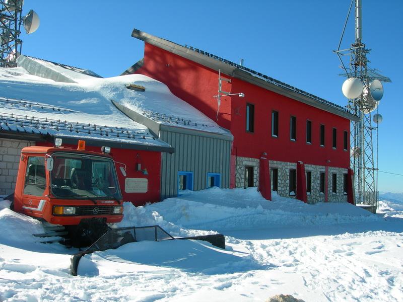 Rifugio Pomilio isolato, la diffida del sindaco Micucci