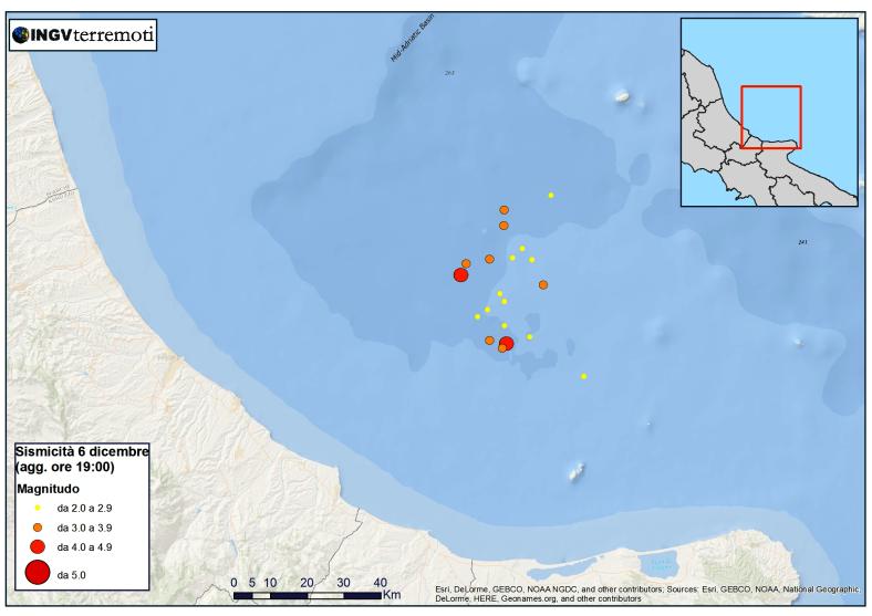 Sciame sismico in Adriatico: parla l'esperto