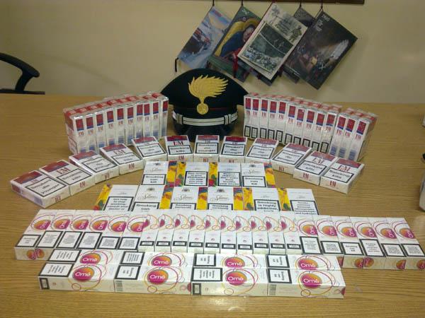 Montesilvano: Ucraini denunciati per contrabbando sigarette