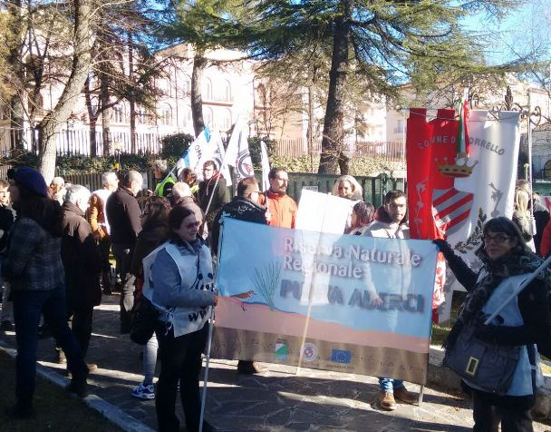 Abruzzo, riserve: sit-in ambientalisti per taglio risorse