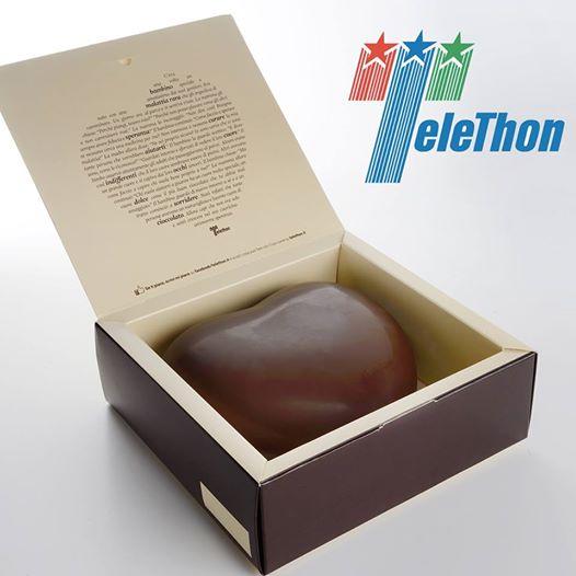 Telethon: cuori di cioccolato anche in Abruzzo