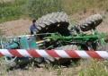 Lanciano: anziano si ribalta con il trattore e muore