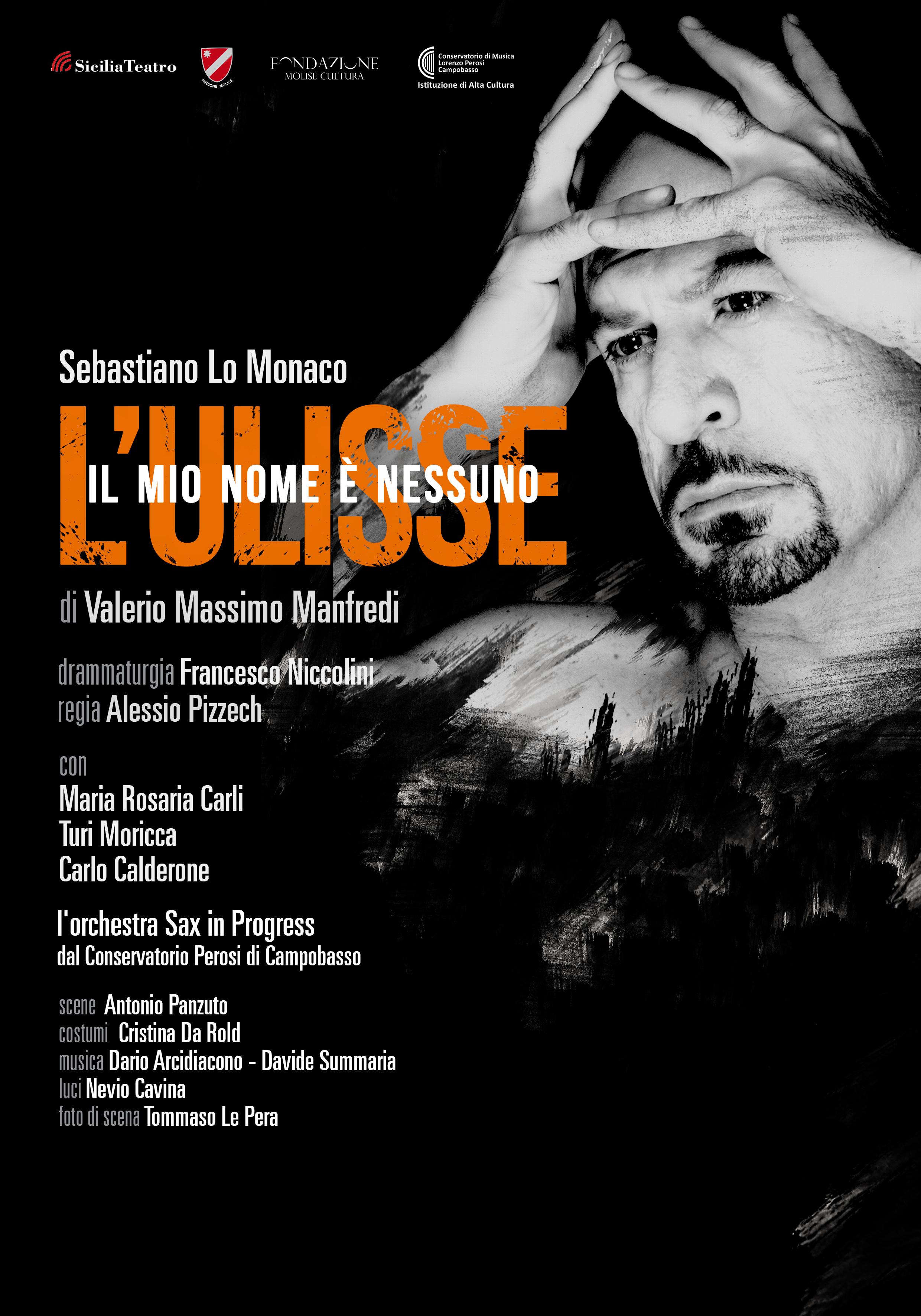 """Teatro: """"Il mio nome è nessuno. L'Ulisse"""" a L'Aquila"""