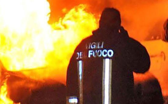 Incendio a Tagliacozzo, 6 ettari di bosco in fumo