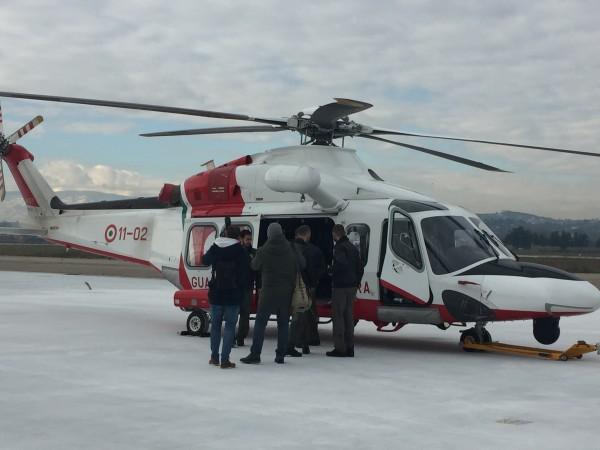 Guardia Costiera Pescara: Inaugurata Sezione Volo Elicotteri