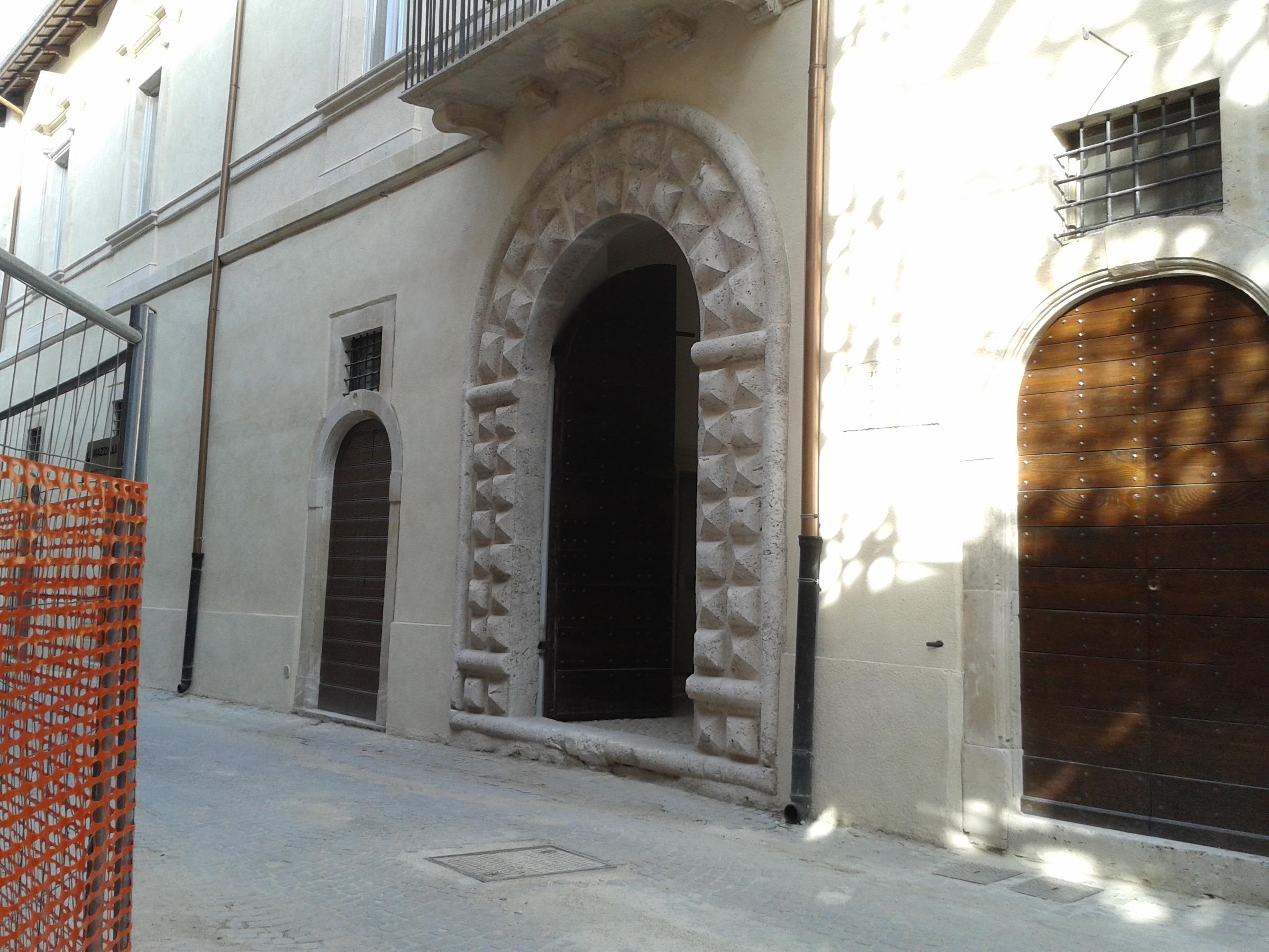 Ricostruzione: torna a nuova vita palazzo Ciavoli Cortelli