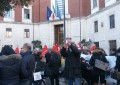 Pescara: tagli assistenza, Spi-Cgil protesta sotto Comune