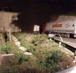 Le foto scattate dai camionisti