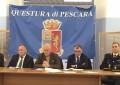 Pescara: Reati al minimo storico dal 2010