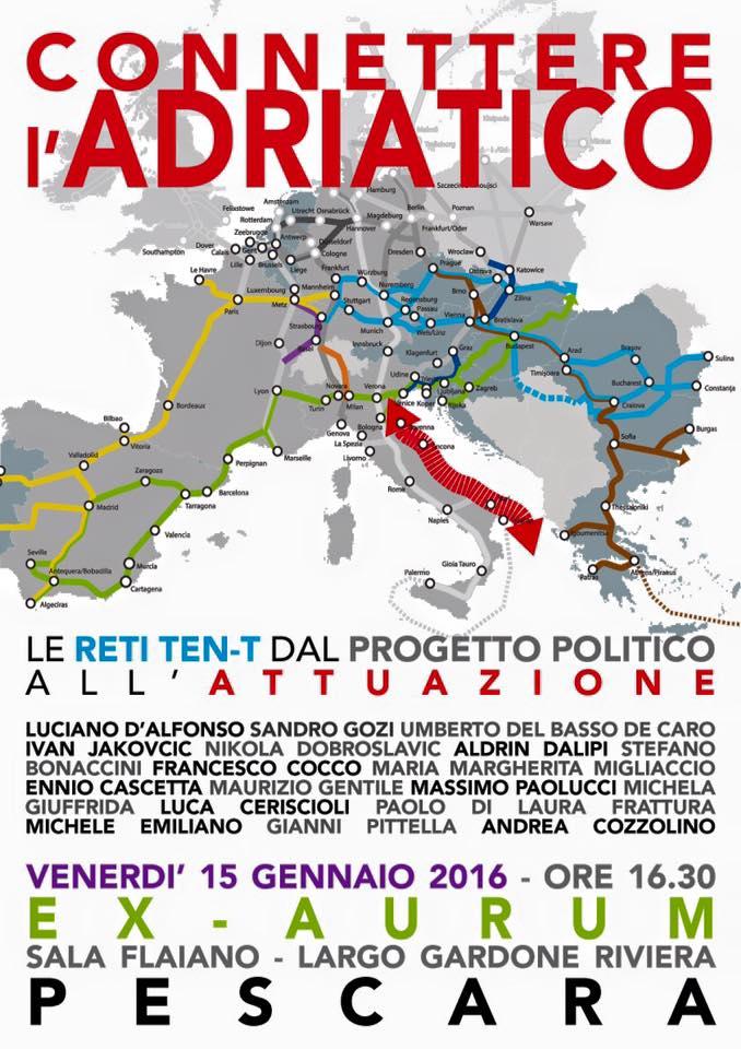 Pescara, 'Connettere l'Adriatico' con esperti a confronto