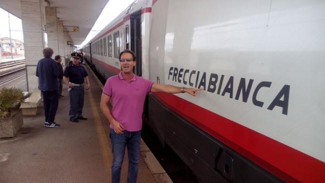 Estate in treno in Abruzzo: Domani Frecciabianca a Vasto