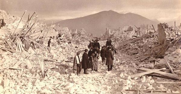 Terremoto: un libro sul sisma della Marsica