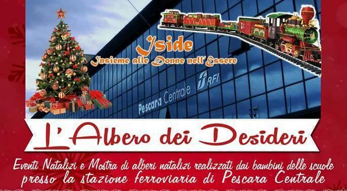 Pescara, befana multietnica in stazione