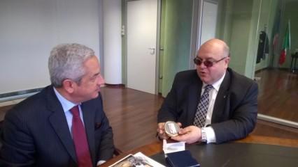 Pescara: Di Matteo incontra 007 canadese