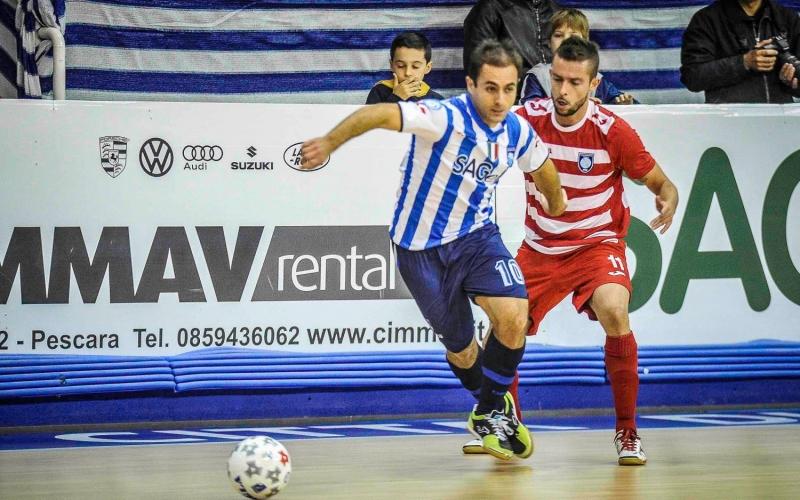 Calcio a 5: pari nel derby, colpo Acqua&Sapone a Latina