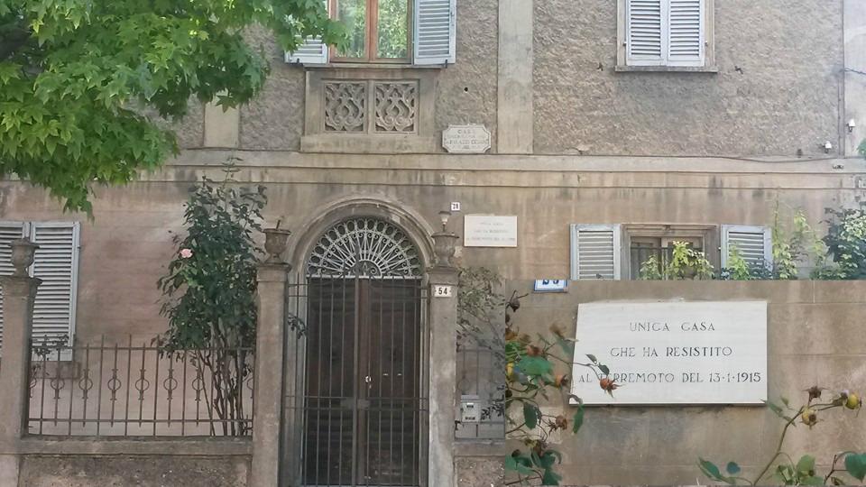 Il terremoto di Avezzano e l'unica casa sopravvissuta