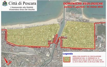 Pescara: oggi la domenica ecologica