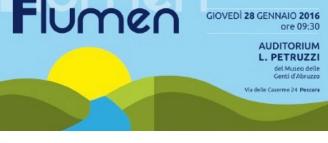 Bacino Aterno-Pescara: Convegno sulle opportunità di sviluppo