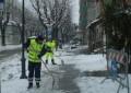 Francavilla e Vasto: neve, ghiaccio e polemiche