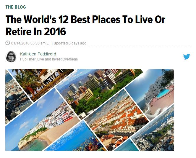 Huffingtonpost: Abruzzo tra 12 posti al mondo in cui vivere
