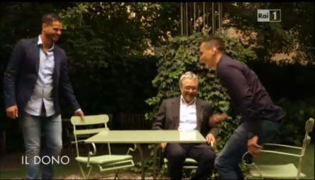 L'Aquila: la storia di Vaios e Vincenzo commuove in Tv