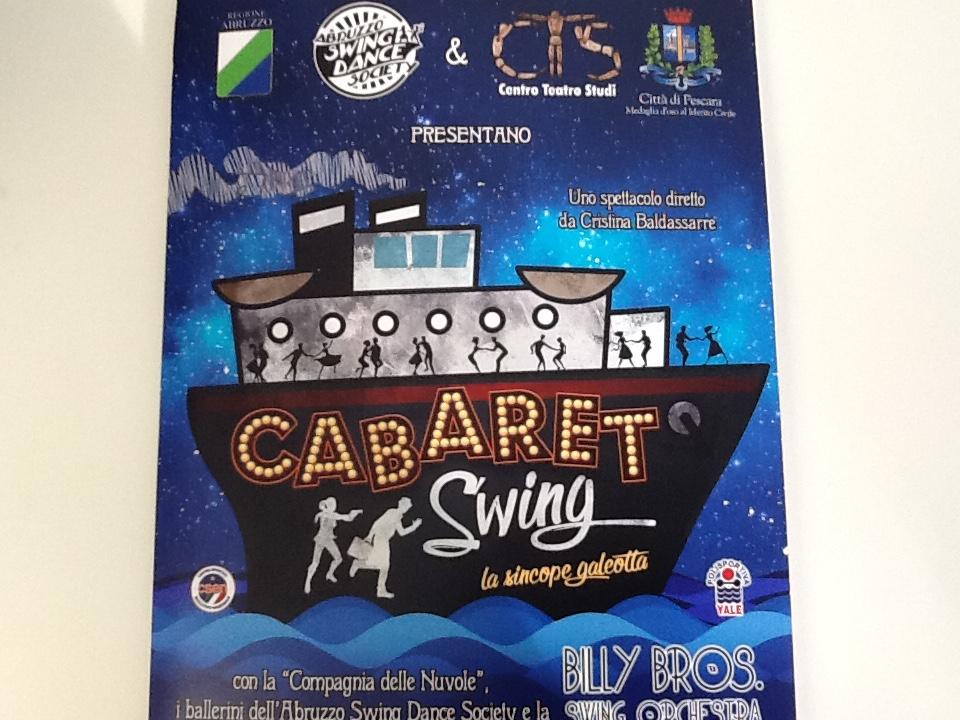 Cabaret Swing: diversamente abili sul palco