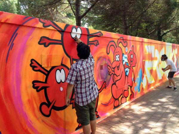Montesilvano: muri per l'arte, l'arte sui muri