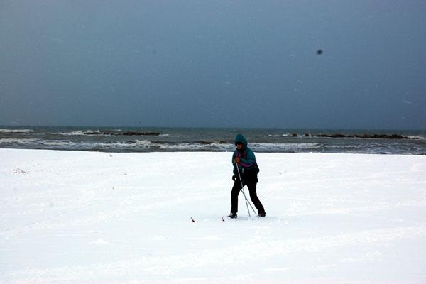 Abruzzo: freddo e neve, arriva l'inverno